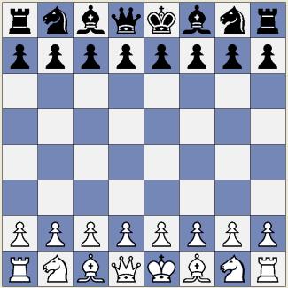 chess set up