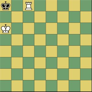 King and Rook v. King mate at the edge of the board number two